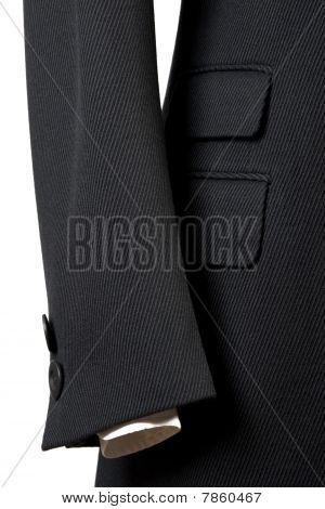 Close-up Of Elegant Overcoat