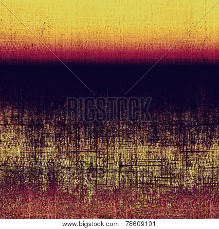 Abstract distressed grunge background. With different color patterns: yellow; purple (violet); brown; orange