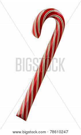 Red And Green Striped Candy Cane
