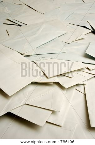 mound of envelopes