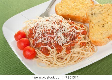 Spaghetti Abendessen