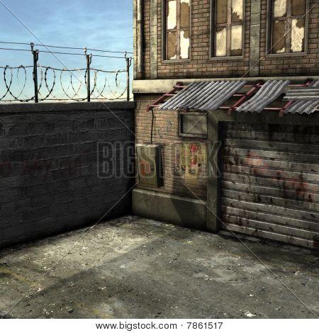 Dead End Alley Scene