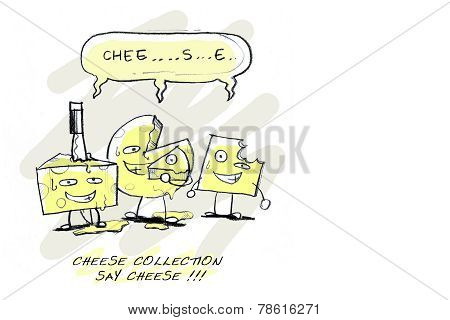 say cheese ironic funny cartoon