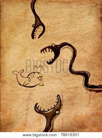 Seal Nightmare From Snake Cartoon