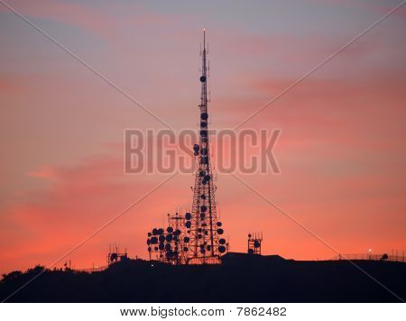 Communication Sunset