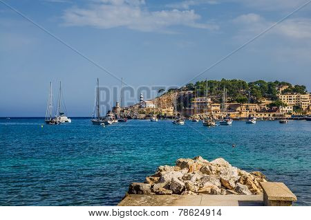 Seaside of Mallorca