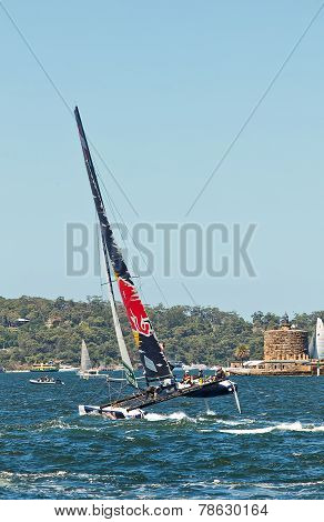 Extreme Sailing Series in Sydney