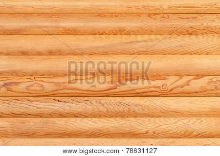 Natural Background From Log Wall.