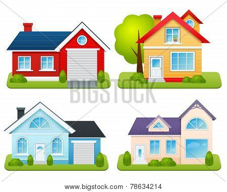 Private Houses Set