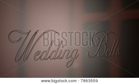 Wedding Bells Engraved