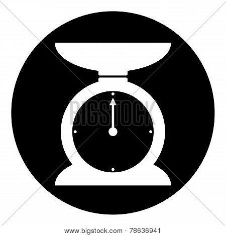 Kitchen Scales Button