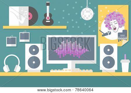 musician workstation