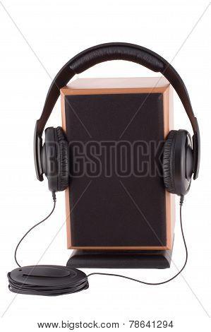 Headphones And  Loud Speaker
