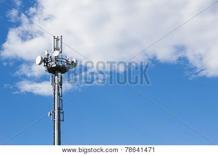Mobile Tower In The Sky