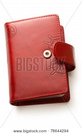 Calling Cards Leather Folder