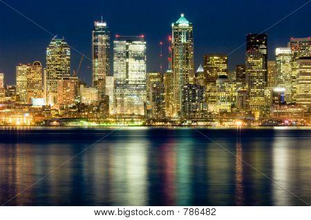 Seattle bei Nacht