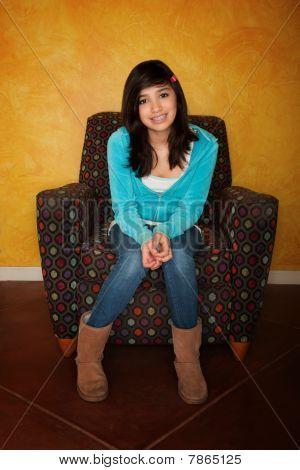 Pretty Latina Girl