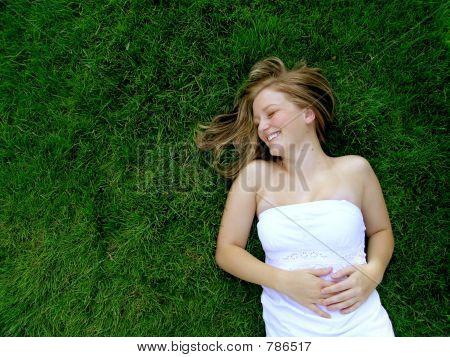 Lying in Grass