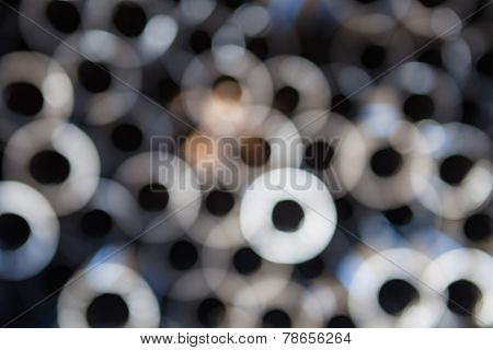 abstract lights, blurred circle background.