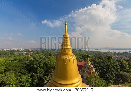 Buu Long Pagoda At  Ho Chi Minh City, Vietnam, Near Suoi Tien Theme Park