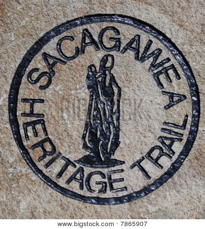 Sacagawea Trail Marker