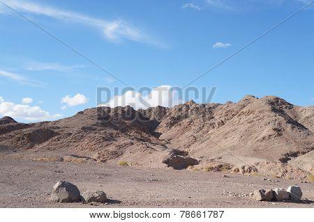 Wadi Shahamon in Eilat