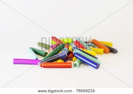 Color Ink Cartridges For A Pen