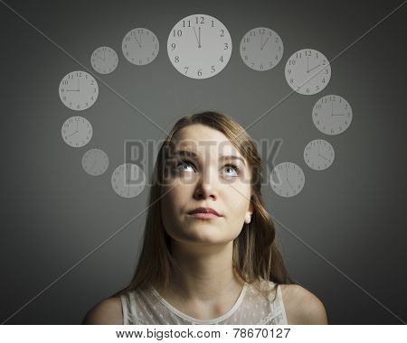 Girl And Time