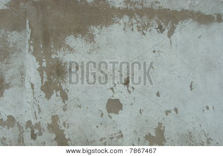 Dirty Worn Mint Green Wall