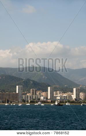 Desenvolvimento de Waterfront Ajaccio Córsega França