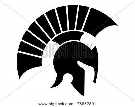Caesar helmet logo