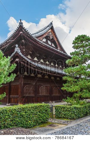 Dharma Hall (Hatto) at Daitoku-ji Temple in Kyoto Japan