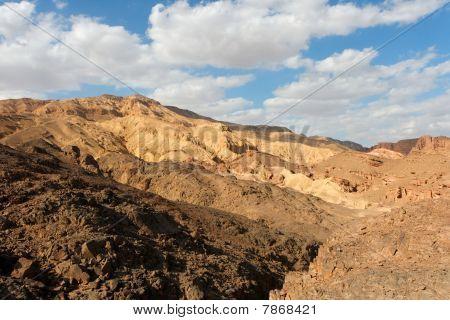 Stone desert landscape