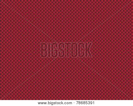 Mesh structure red