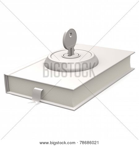 White Book And Key