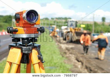 Surveyor Ausrüstung Level Theodolit