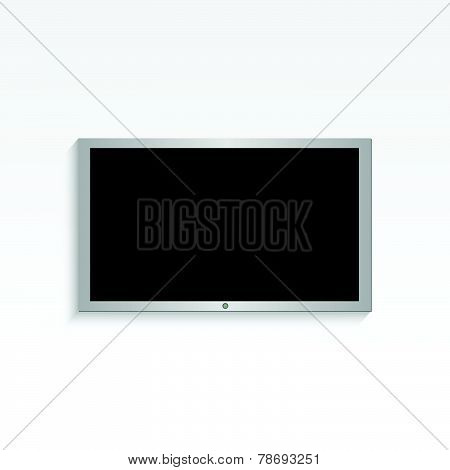 Hanging Television Illustration