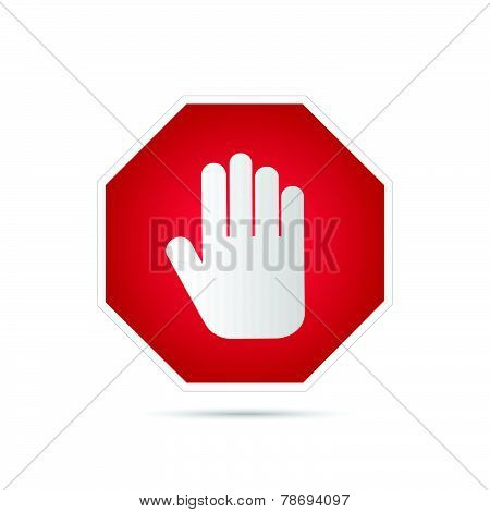 Stop Sign Illustration
