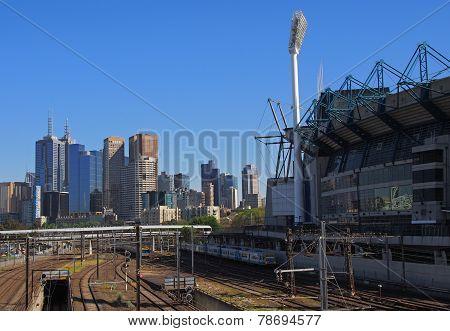 Trains Leaving Melbourne
