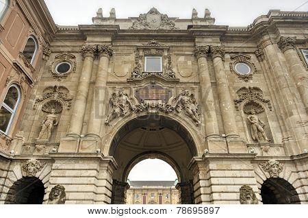 Buda Castle - Budapest, Hungary