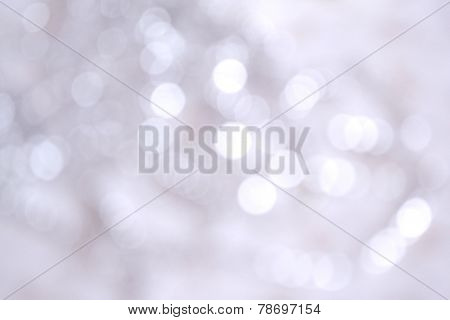 Silver Christmas Light background