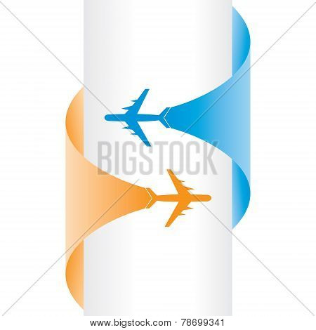 Tour and Tourism banner stock vector
