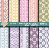 pic of tile  - 10 Retro Seamless Patterns - JPG
