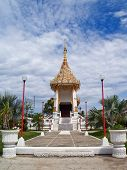 foto of crematory  - Crematory of Sri Mueang Temple - JPG