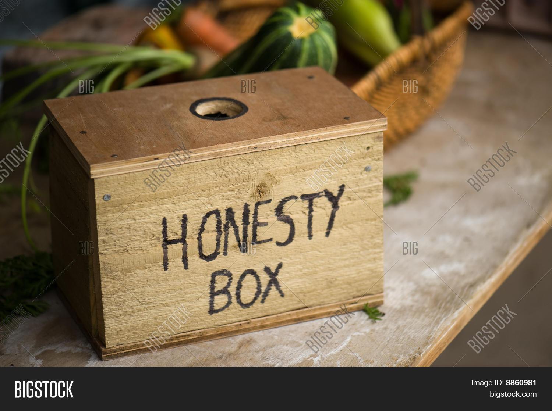 Honesty Box Stock Photo & Stock Images | Bigstock