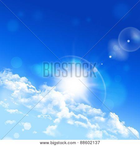 Bright Sky Angle Horizon