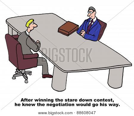 Negotiation Gamesmanship