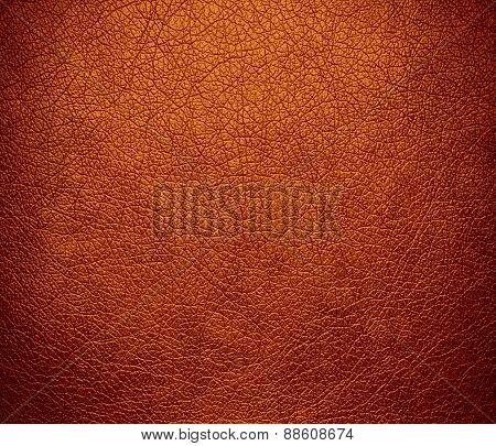 Alloy orange leather texture background