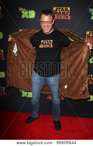 LOS ANGELES - FEB 18:  Steve Blum at the Global Premiere of