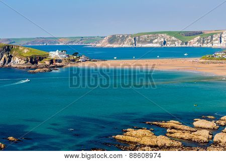 Burgh Island South Devon England